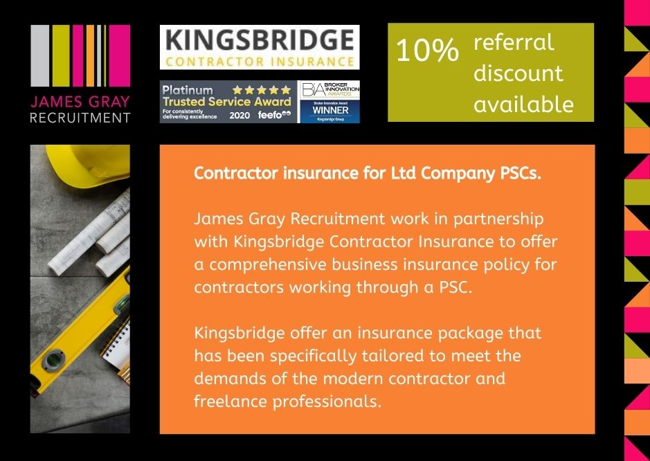 Contractor Insurance for Ltd Company PSCs.
